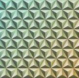 Texture 3D géométrique abstraite Modèle de gradient de vecteur de triang Photos libres de droits