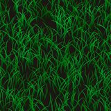 Texture 3d grass with black places royalty free illustration