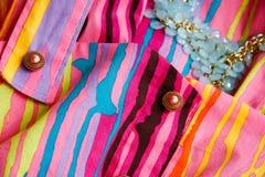 Texture d'habillement Image stock