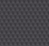 Texture 3d illusion dark gray seamless pattern. v Stock Image