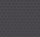 Texture 3d illusion dark gray seamless pattern. Stock Image