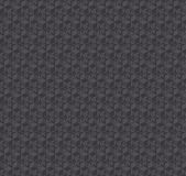 Texture 3d illusion dark gray seamless pattern. Stock Photo