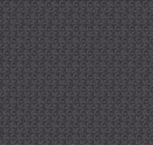 Texture 3d illusion dark gray seamless pattern. Royalty Free Stock Image