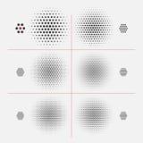 Texture d'image tramée de vecteur Image stock