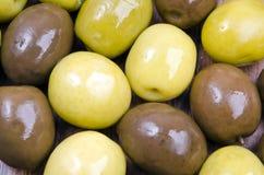 Texture d'olives Photographie stock libre de droits