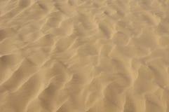 Texture d'ondulation de sable Photographie stock libre de droits