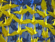 Texture d'Origami Images stock