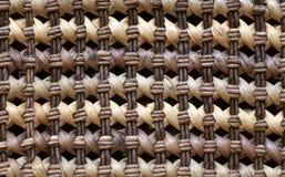 Texture d'osier de Brown Image stock