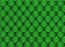 texture 3d pointue avec les cubes verdâtres Illustration Stock