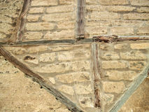 Texture d'un mur d'adobe Photos libres de droits