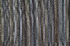 Texture d'un plaid tricoté, laine, bandes Photographie stock libre de droits