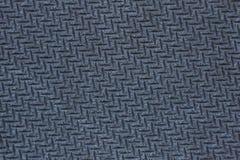 Texture d'un tapis de souris en caoutchouc texturisé d'ordinateur, macro photographie, texture du caoutchouc noir, noire image stock