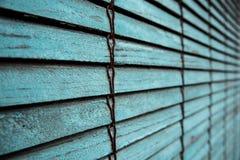 Texture d'un vieil abat-jour bleu Images libres de droits
