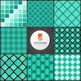 Texture d'une caisse en turquoise Photographie stock libre de droits