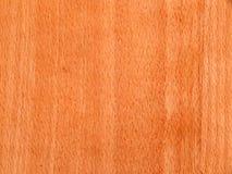 Texture d'une surface en bois d'un cerisier Placage en bois pour des meubles Photographie stock libre de droits