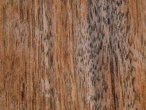 Texture d'une surface en bois d'un noyer américain Placage en bois pour le furnitur Photo stock
