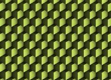 texture 3d verdâtre avec des ombres et des cubes Illustration Stock