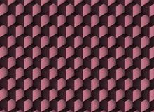 texture 3d violette avec des ombres et des cubes illustration stock