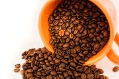 Texture dans une cuvette de café Image libre de droits