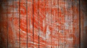 Texture of dark orange wooden planks Stock Photography