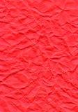 Dark Pink Fiber Paper - Crumpled Royalty Free Stock Photos