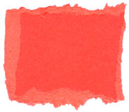 Dark Pink Fiber Paper - Torn Edges Royalty Free Stock Photos