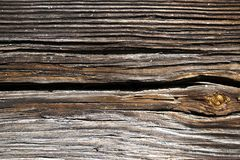 Texture of dark wood. natural background. Stock Images