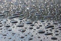 Texture de baisse de l'eau Images libres de droits