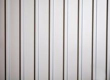 Texture de barrière Picket Profile en métal Photos stock