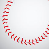 Texture de base-ball Photographie stock libre de droits