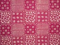 Texture de batik Photographie stock