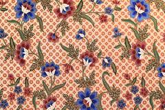 Texture de batik fabriquée en Malaisie Photos stock