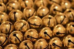 Texture de Bell d'or photos stock