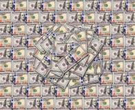 Texture de billets de banque du dollar Illustration Libre de Droits