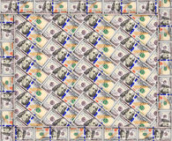 Texture de billets de banque du dollar Image libre de droits