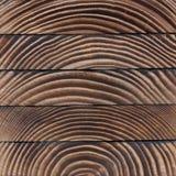 Texture de blocs en bois Fond naturel abstrait Photos libres de droits