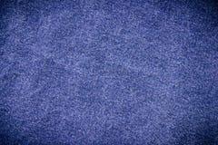 Texture de blues-jean d'indigo pour le textile Image stock