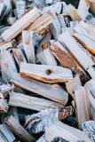 Texture de bois de chauffage photo stock