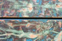 Texture de bois coloré Photos libres de droits