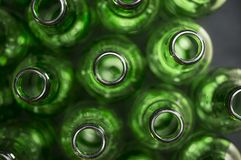 Texture de bouteilles d'ours Photographie stock libre de droits