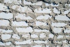 Texture de brique avec des éraflures et des fissures photo libre de droits