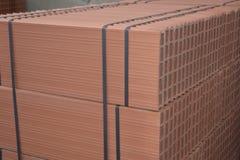 Texture de brique Baumaterial Image stock