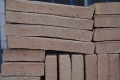 Texture de brique Baumaterial Photographie stock libre de droits