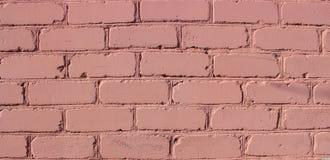 Texture de brique brune peinte Vieux mur, construit sur il y a 100 ans photos stock
