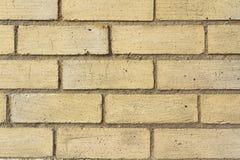 Texture de brique colorée par cuir épais Photo libre de droits