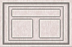Texture de cadre en bois Photographie stock