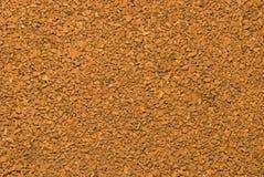 Texture de café instantané Images stock