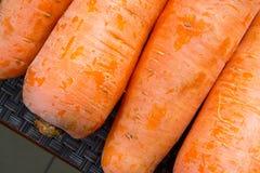 Texture de carottes Photographie stock libre de droits