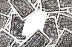 Texture de cartes de jeu Photo stock