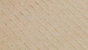 Texture de carton clips vidéos